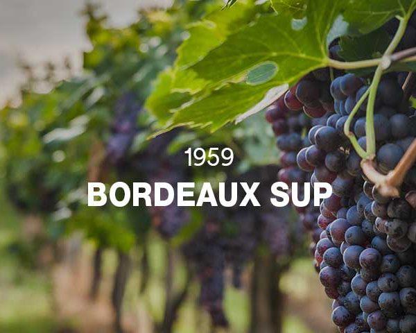 1959 - BORDEAUX SUPÉRIEUR