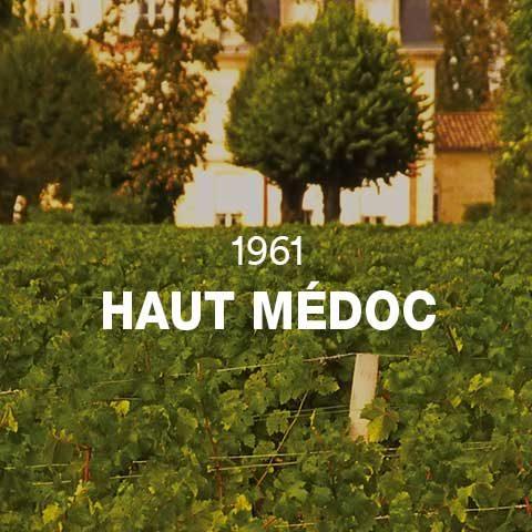 1961 - HAUT MÉDOC