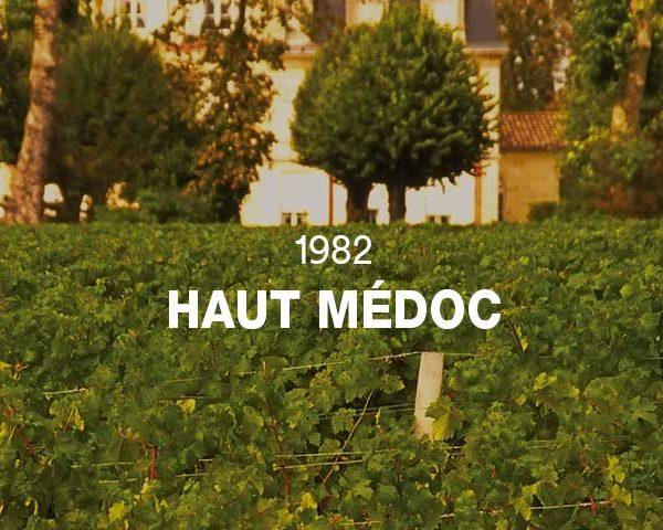 1982 - HAUT MÉDOC