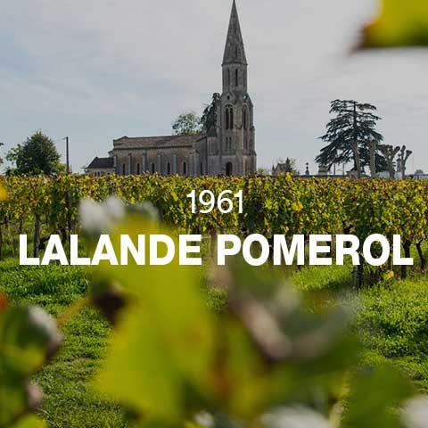 1961 - LALANDE POMEROL