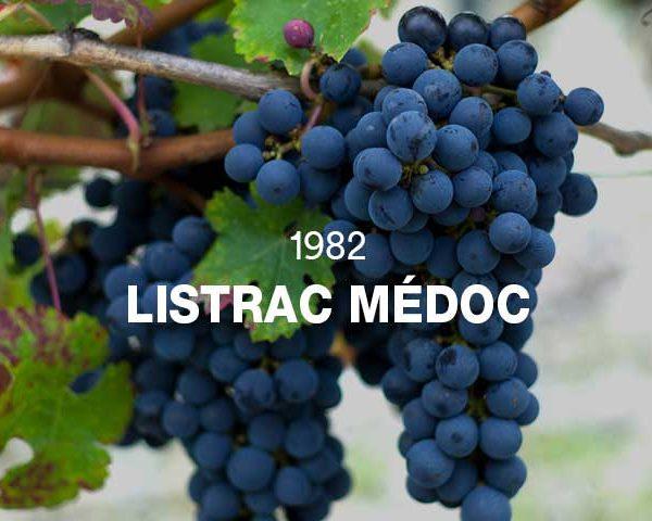 1982 - LISTRAC MÉDOC