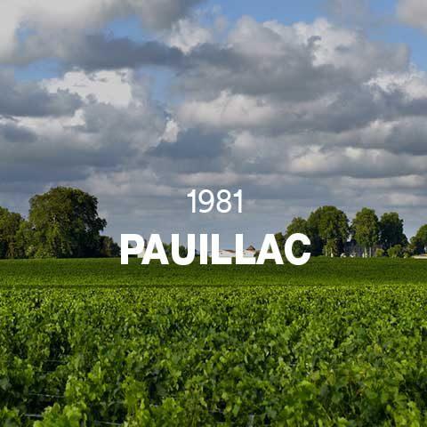 1981 - PAUILLAC
