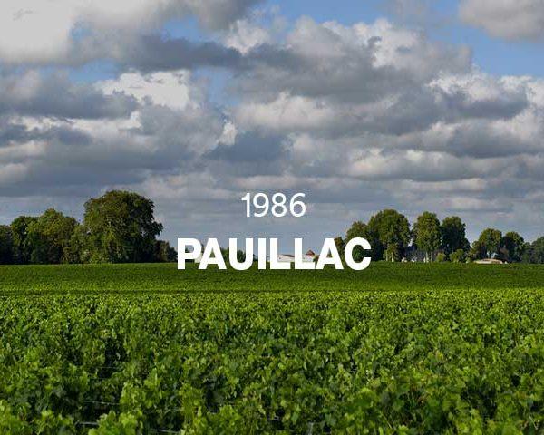 1986 - PAUILLAC