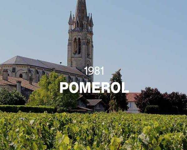 1981 - POMEROL