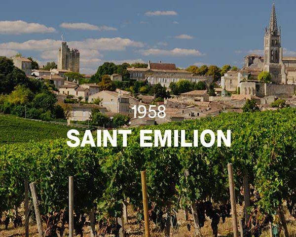 1958 - SAINT EMILION