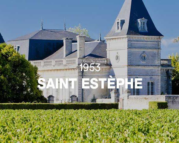 1953 - SAINT ESTÈPHE