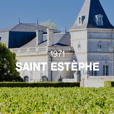 1971 - SAINT ESTÈPHE