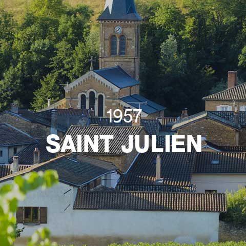 1957 - SAINT JULIEN