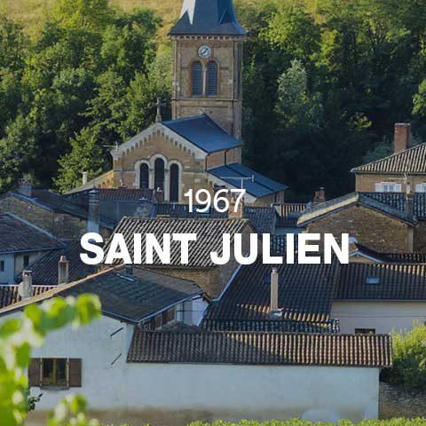 1967 - SAINT JULIEN