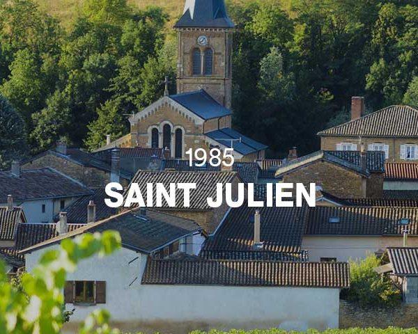 1985 - SAINT JULIEN